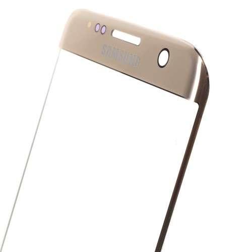 inlocuire geam sticla ecran display samsung s7 edge sm-g935f gold