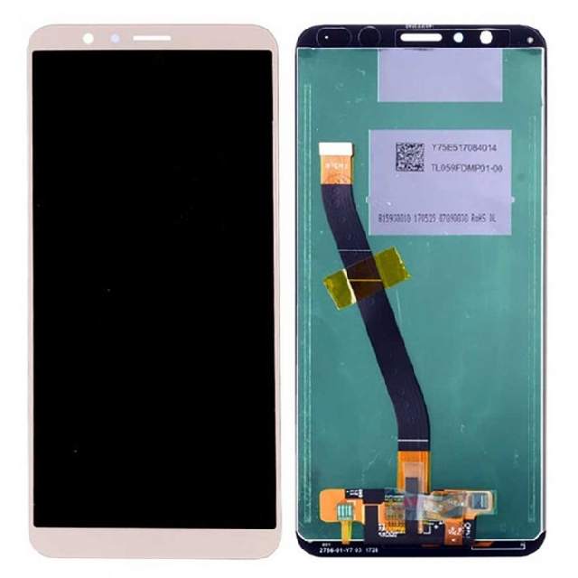 schimbare display touchscreen huawei honor 7x bnd-l21 bnd-l22 gold