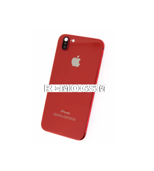 inlocuire carcasa iphone 7 design iphone x red