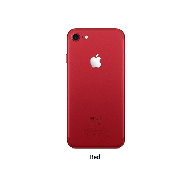 inlocuire carcasa capac spate apple iphone 7 red