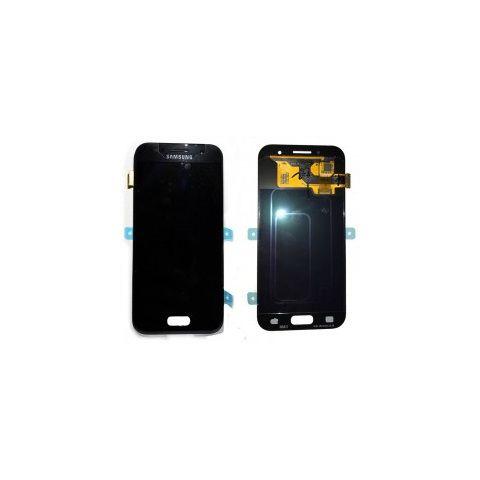 schimbare  display touchscreen samsung sm-a320f galaxy a3 2017 negru gh97-19732a