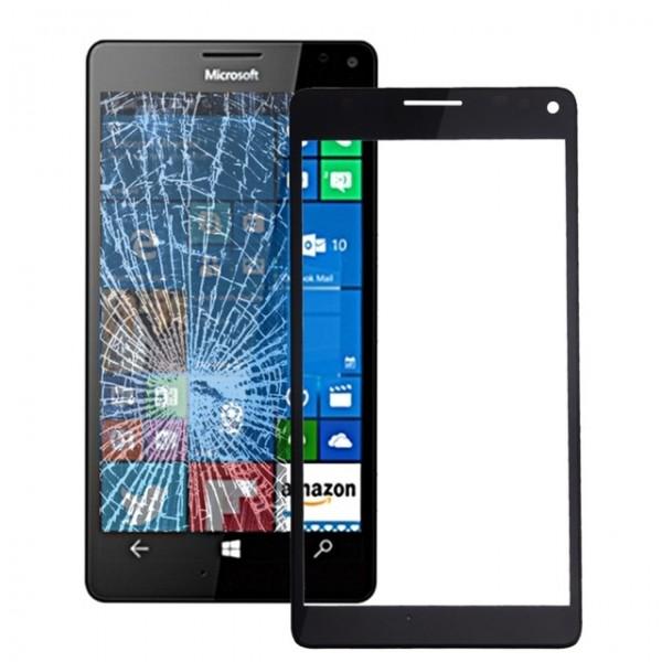 inlocuire geam sticla microsoft lumia 950 negru