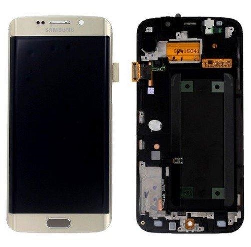 inlocuire display set complet samsung galaxy s6 edge g925 gold gh97-17162c