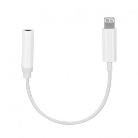 adaptor audio apple iphone jack 35mm - lightning