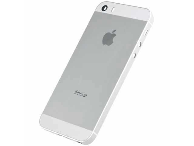 inlocuire carcasa capac baterie apple iphone 5s se alb