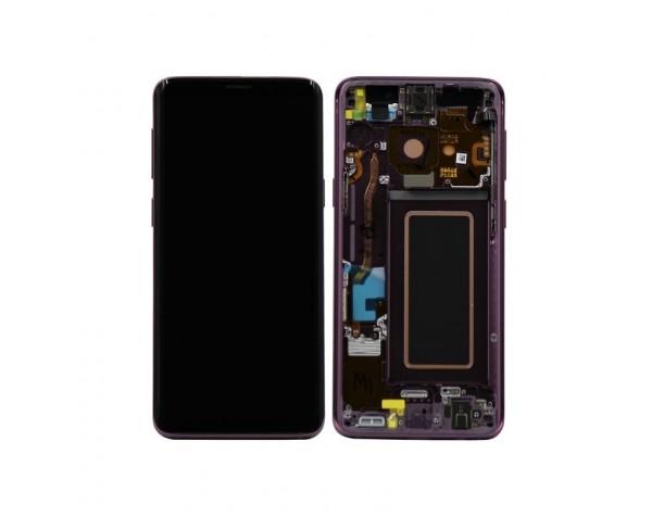 inlocuire display cu touchscreen si rama samsung sm-g960f galaxy s9 purple original