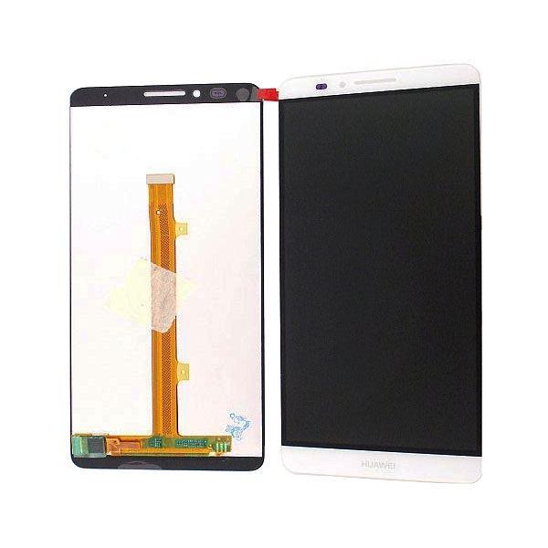 inlocuire display cu touchscreen huawei mate 7 alb original