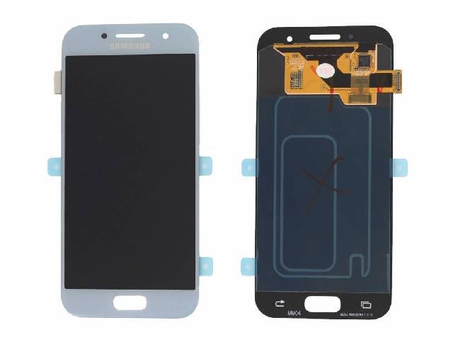 inlocuire display touchscreen samsung sm-a320f galaxy a3 2017 bleu gh97-19732c