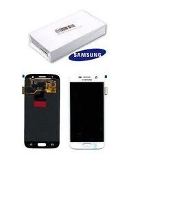 inlocuire display set complet alb samsung galaxy s7 g930 gh97-18523d original