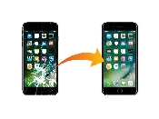inlocuire schimbare geam ecran sticla display iphone 7 plus