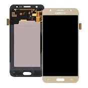 inlocuire display cu touchscreen samsung sm-j500fn galaxy j5 auriu original