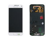 schimbare display cu touchscreen samsung galaxy s5 mini g800 alb oem original gh97-16147b