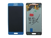 inlocuire display set complet samsung galaxy alpha g850 bleu gh97-16386c