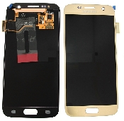 inlocuire display cu touchscreen samsung sm-g930f galaxy s7 gold original