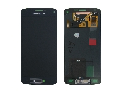 inlocuire set display touchscreen samsung galaxy s5 mini g800 negru gh97-16147a