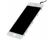 inlocuire display cu touchscreen si rama apple iphone 6s plus alb original