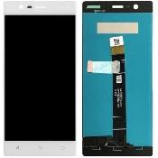 inlocuire display cu touchscreen nokia 3 ta-1032 alb original