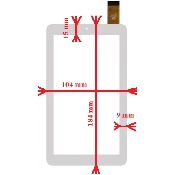 inlocuire geam touchscreen archos 70 copper 3gutok 700q hd