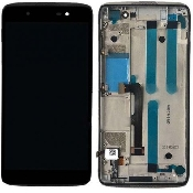 inlocuire display cu touchscreen si rama blackberry dtek50 neon