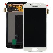 inlocuire display cu touchscreen samsung sm-g920f galaxy s6 alb original