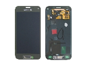 schimbare display touchscreen samsung galaxy s5 mini g800 gold gh97-16147d