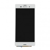 inlocuire display cu touchscreen sony xperia z3 d6603 d6643 alb