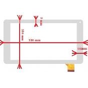 inlocuire geam touchscreen  utok 700d lite utok 700q lite