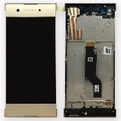 display touchscreen si rama sony xperia xa1 g3121 g3123 g3125dual g3112 g3116 gold