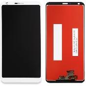 inlocuire display cu touchscreen lg g6 h870 original alb