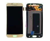 inlocuire display cu touchscreen samsung sm-g920f galaxy s6 gold original