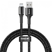 cablu date incarcator baseus halo data cable usb for lightning 24a 1m