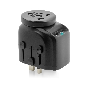 adaptor priza vetter universal world travel adapter with dual usb charger 2500w