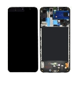 inlocuire display cu touchscreen si rama samsung sm-a705f galaxy a70 oem original