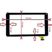 inlocuire geam touchscreen vonino orin hd otis s