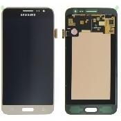 inlocuire display cu touchscreen samsung sm-j320f galaxy j3 2016 auriu original
