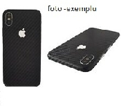 folie carbon full back cover carcasa spate huawei y7a