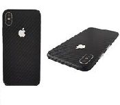 folie spate carbon iphone x full back cover