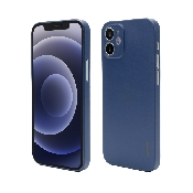 husa de protectie vetter pentru iphone 12 mini clip-on ultra thin air series blue