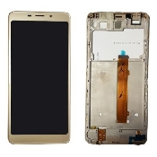 inlocuire display cu touchscreen si rama allview p10 style gold