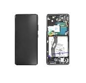 inlocuire display cu touchscreen samsung s21 ultra 5g g998 phantom black