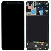 inlocuire display cu touchscreen si rama samsung sm-a507f galaxy a50s oem original