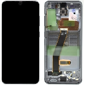 inlocuire display set complet samsung s20 5g g980f g981f cosmic grey oem original