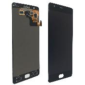 inlocuire ecran display cu touchscreen oneplus 3 original negru