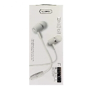 casti handsfree tranyoo t1 in-ear headphones 12m white jack 35 mm
