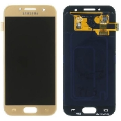inlocuire display touchscreen samsung sm-a320f galaxy a3 2017 gold gh97-19732b
