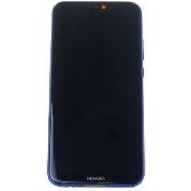 inlocuire display cu touchscreen si rama huawei p20 lite ane-lx1 albastru original