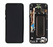 inlocuire display samsung sm-g955f galaxy s8 plus negru in system buy-back