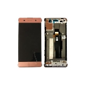 inlocuire display cu touchscreen si rama sony xperia xa xa dual f3111 f3113 f3115 rose - gold