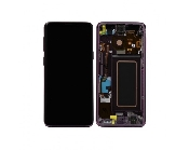 inlocuire display cu touchscreen si rama samsung sm-g960f galaxy s9 purple original
