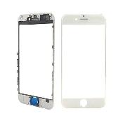 inlocuire schimbare geam ecran sticla display iphone 7 plus alb